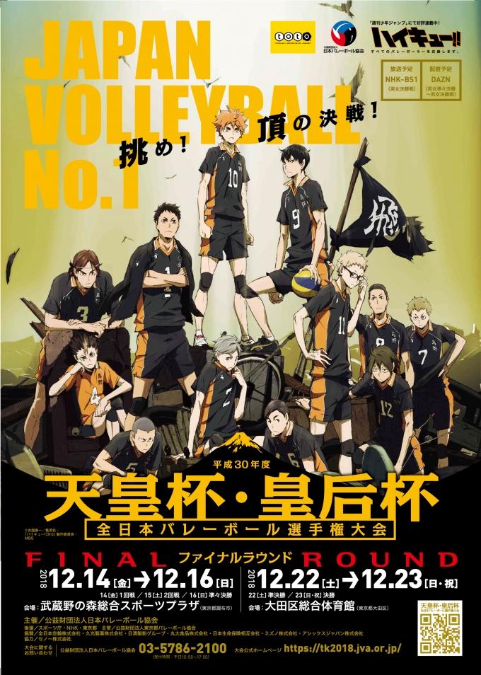 平成30年度天皇杯皇后杯全日本選手権 ファイナルラウンド出場チームが決定